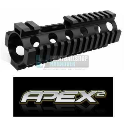 Apex2 Front Shroud mit Weaverrails (20mm) für Apex2 Kopf | Paintball Sports