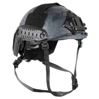 DELTA SIX Tactical MH Pro FAST Helm für Paintball / Airsoft (Black Kryptec)   Paintball Sports