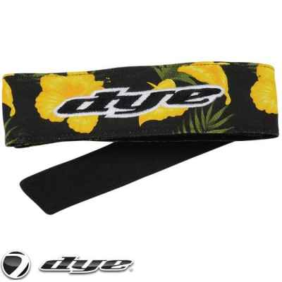 DYE C14 Paintball Head Band/Head Tie (Floral) | Paintball Sports
