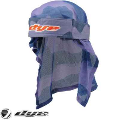Dye Paintball Head Wrap (Bomber Red/Blue) | Paintball Sports