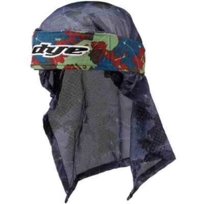 Dye Paintball Head Wrap (Global Blue/Red/Green) | Paintball Sports