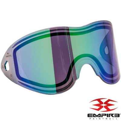 Empire Vents/E-Flex Paintball Thermal Maskenglas (Green Mirror) | Paintball Sports