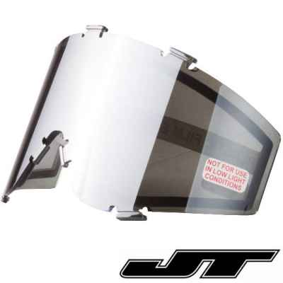 JT Spectra Paintball Thermal Maskenglas (Chrom - Silver Mirror) | Paintball Sports