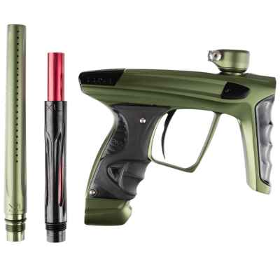DLX Luxe X Paintball Markierer (Olive Dust/ Black Polished) | Paintball Sports