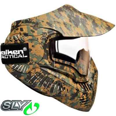 Valken MI-7 Paintball Thermalmaske (Marpat) | Paintball Sports