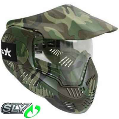 Valken MI-7 Paintball Thermalmaske (Woodland) | Paintball Sports