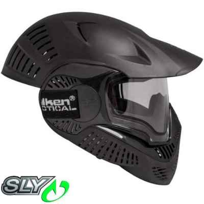 Valken MI-7 Full Cover Paintball Thermal Maske (schwarz) | Paintball Sports