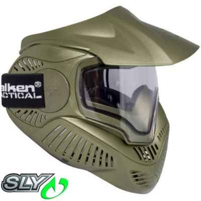 Valken MI-7 Paintball Thermalmaske (oliv) | Paintball Sports