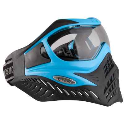 V-Force Grill Paintball Thermalmaske Ltd. Edition Blue/Black   Paintball Sports