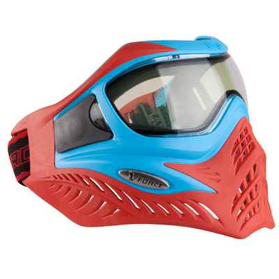 V-Force Grill Paintball Thermalmaske Ltd. Edition (Blau/Rot)   Paintball Sports