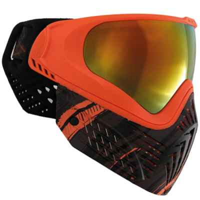 Virtue VIO EXTENDED Graphics Paintball Maske (Amber)   Paintball Sports