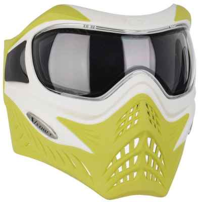 V-Force Grill Paintball Thermalmaske Ltd Edition (lime/weiss)   Paintball Sports