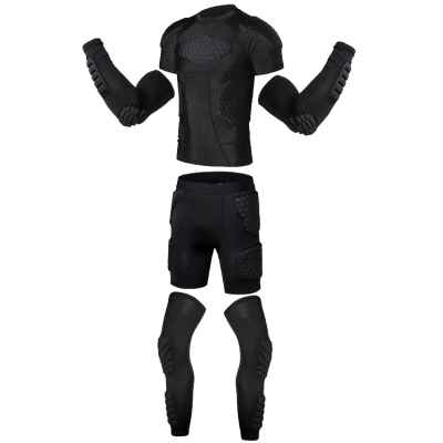 Nano-Series Ultralite Compression Protection Suit (schwarz) | Paintball Sports