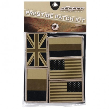 Dye Tactical Prestige Patch Kit (Coalition Flag) | Paintball Sports