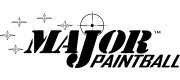 Paintball Produkte der Marke Major Paintball gibt es bei Paintball Sports